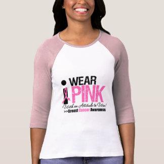 I Wear Pink Attitude To Win T-shirt