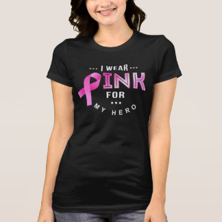 I Wear Pink - Breast Cancer Awareness T-shirt