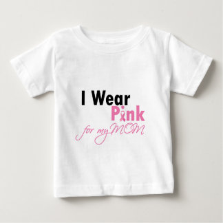 I wear Pink for Mom Baby T-Shirt
