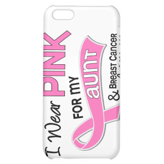 I Wear Pink For My Aunt 42 Breast Cancer iPhone 5C Cover