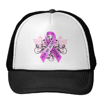 I Wear Pink for my Aunt.png Cap