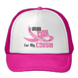 I Wear Pink For My Cousin 33 Mesh Hat