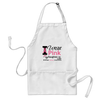 I Wear Pink For My Daughter-in-Law Standard Apron