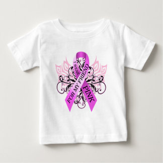 I Wear Pink for my Friend.png Baby T-Shirt
