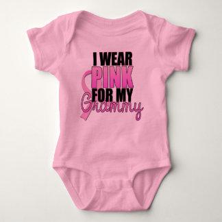 I Wear Pink for My Grammy - Breast Cancer Baby Bodysuit