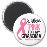 I Wear Pink For My Grandma Refrigerator Magnets