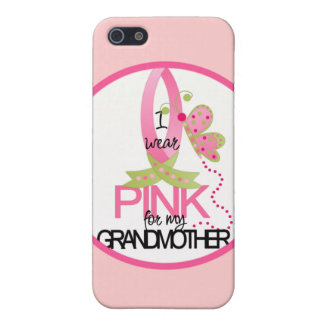 I Wear Pink for my Grandmother iphone 4 Case