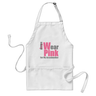 I Wear Pink For My Grandmother Standard Apron