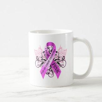 I Wear Pink for my Great Grandma.png Basic White Mug