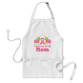 I Wear Pink For My Mom Standard Apron