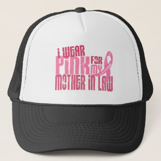 I Wear Pink For My Mother-In-Law 6.4 Breast Cancer Cap