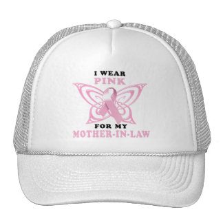 I Wear Pink for my Mother-In-Law Cap