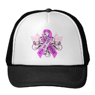 I Wear Pink for my Niece.png Cap