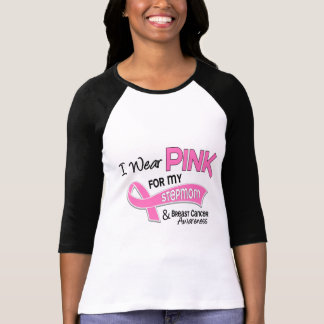 I Wear Pink For My Stepmom 42 Breast Cancer T Shirt
