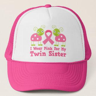 I Wear Pink For My Twin Sister Trucker Hat