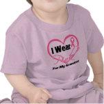 I Wear Pink Heart Ribbon Grandma Breast Cancer