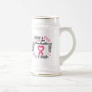 I Wear Pink Ribbon For My Grandmother Coffee Mug