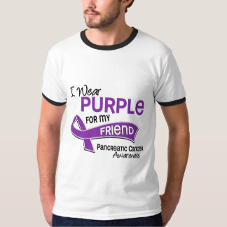 I Wear Purple 42 Friend Pancreatic Cancer T Shirt