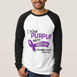 I Wear Purple 42 Grandfather Pancreatic Cancer Tee Shirts