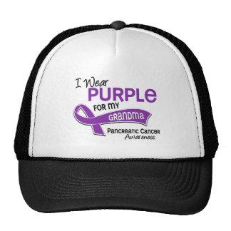 I Wear Purple 42 Grandma Pancreatic Cancer Cap
