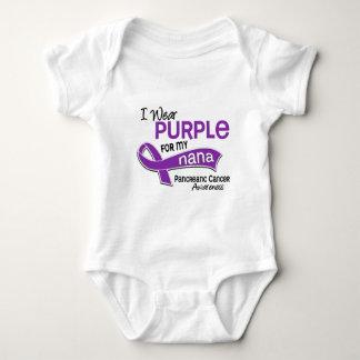 I Wear Purple 42 Nana Pancreatic Cancer Tee Shirt