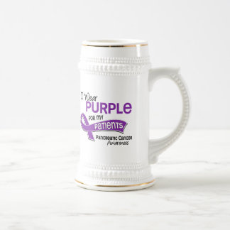 I Wear Purple 42 Patients Pancreatic Cancer Beer Steins