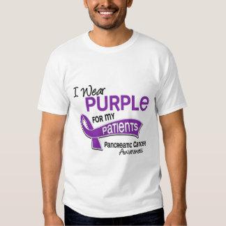 I Wear Purple 42 Patients Pancreatic Cancer Tee Shirts