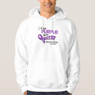I Wear Purple 42 Sister-In-Law Pancreatic Cancer Pullover