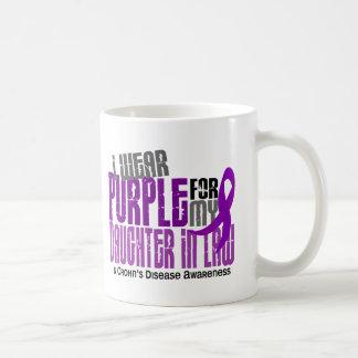 I Wear Purple Daughter-In-Law 6 Crohn's Disease Basic White Mug
