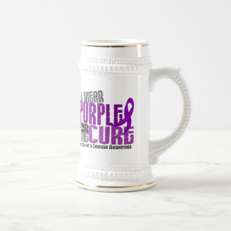 I Wear Purple For Brother-In-Law 6 Crohn's Disease Beer Steins