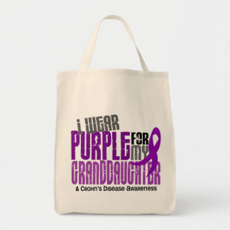 I Wear Purple For Granddaughter 6 Crohn's Disease
