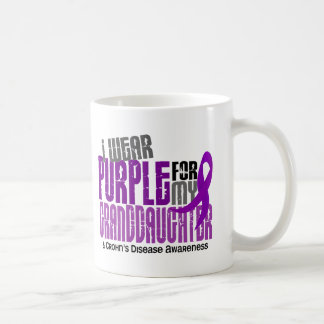 I Wear Purple For Granddaughter 6 Crohn's Disease Mug