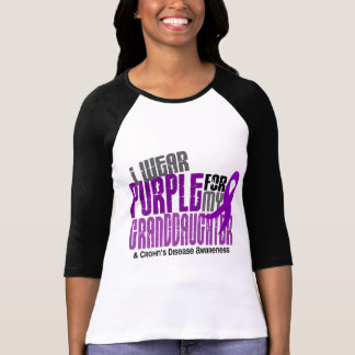 I Wear Purple For Granddaughter 6 Crohn's Disease Shirts