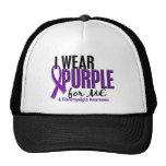 I Wear Purple For ME 10 Fibromyalgia Cap