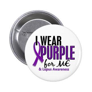 I Wear Purple For ME 10 Lupus 6 Cm Round Badge