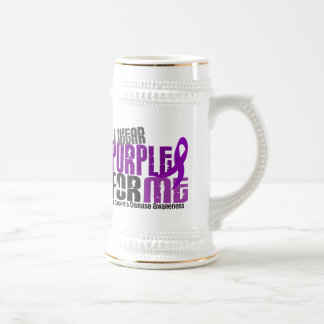 I Wear Purple For ME 6 Crohn's Disease Coffee Mugs