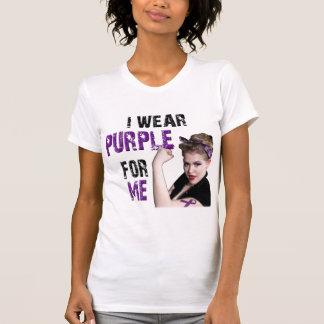 I wear Purple for ME Tank Tops