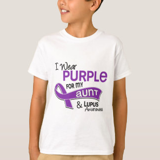 I Wear Purple For My Aunt 42 Lupus T Shirts