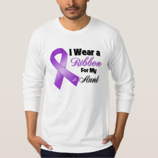 I Wear Purple For My Aunt T Shirt