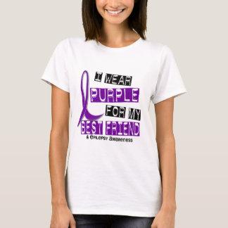 I Wear Purple For My Best Friend 37 Epilepsy T-Shirt