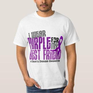 I Wear Purple For My Best Friend 6 Crohn's Disease T-Shirt
