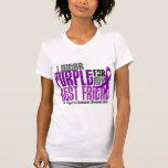 I Wear Purple For My Best Friend 6 Crohn's Disease T Shirts