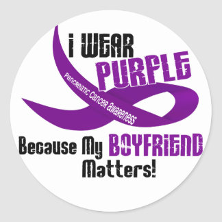 I Wear Purple For My Boyfriend 33 Shirts & Gifts Stickers