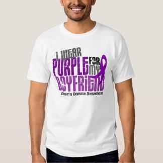 I Wear Purple For My Boyfriend 6 Crohn's Disease Shirt