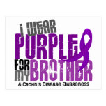 I Wear Purple For My Brother 6 Crohn's Disease