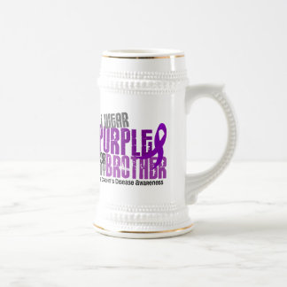 I Wear Purple For My Brother 6 Crohn's Disease Coffee Mugs