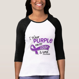 I Wear Purple For My Cousin 42 Lupus Tshirts
