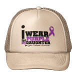 I Wear Purple For My Daughter Cystic Fibrosis Trucker Hat