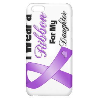 I Wear Purple For My Daughter Cover For iPhone 5C