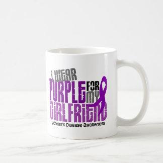 I Wear Purple For My Girlfriend 6 Crohn's Disease Mugs